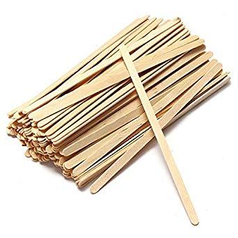 spatule en bois pour gobelet carton