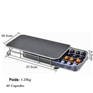 Duolvqi Dosette de Caf Porte Tiroir De Rangement Capsules de Caf Organisateur pour 40 pi ces.jpg 350x350