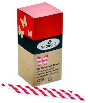 boites pailles de papiers rouge blanche gobeletcarton com