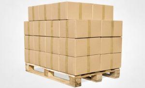 pallet gobelet carton